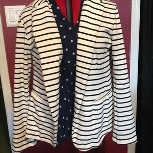 Comfy Striped Blazer
